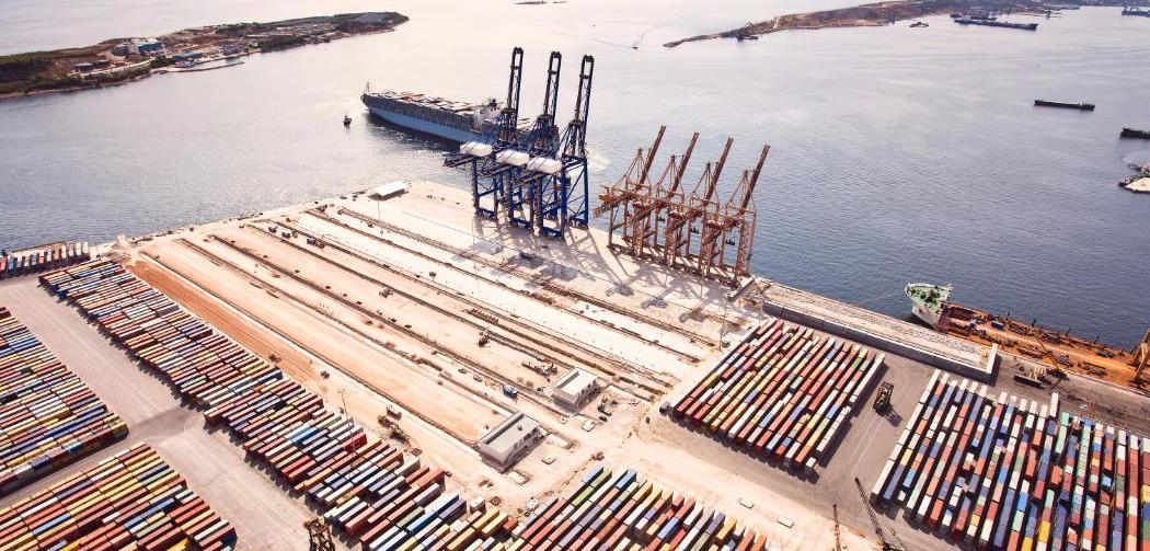 image of a port