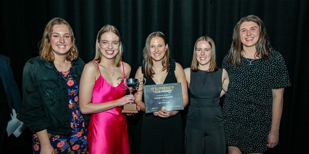 UC Women in Business header