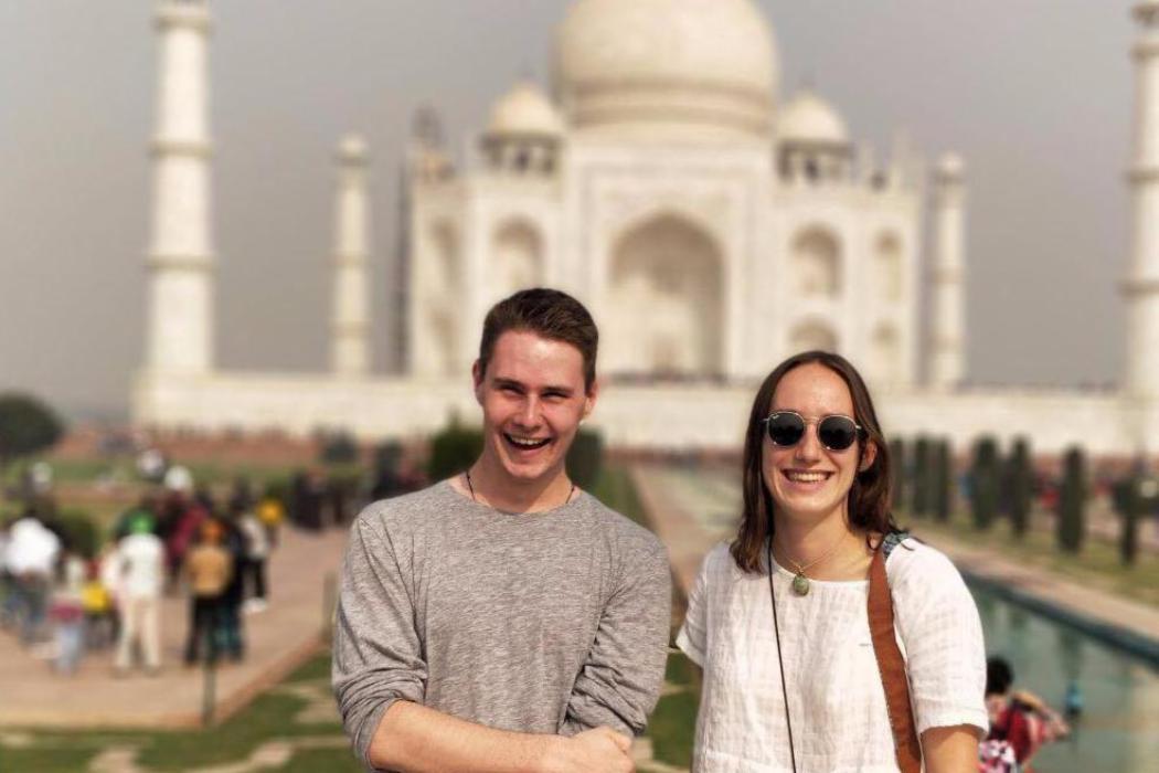 Nic & Evie Taj Mahal