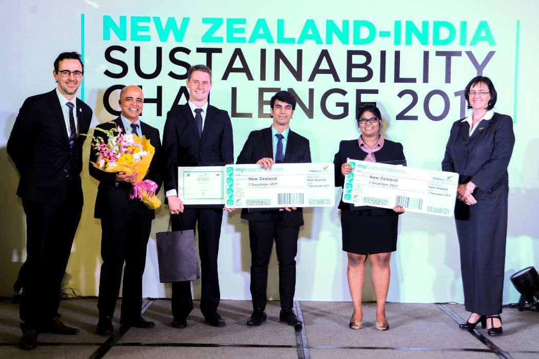 Nic Steyn NZ India Sustainability Challenge