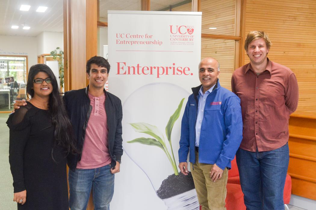 UCE Indian Students visit NZ