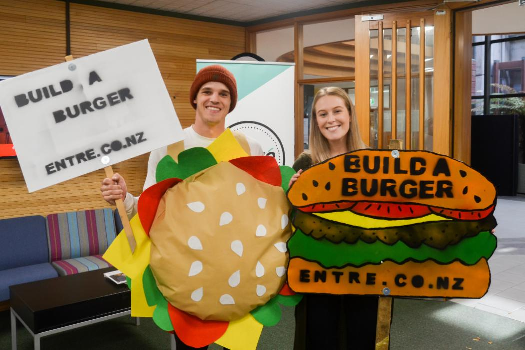 UCE Entre Build a Burger Challenge 2018