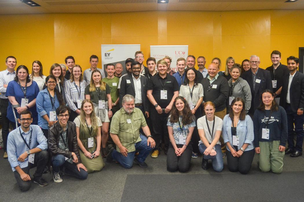 Speed mentoring team photo UCE 2018