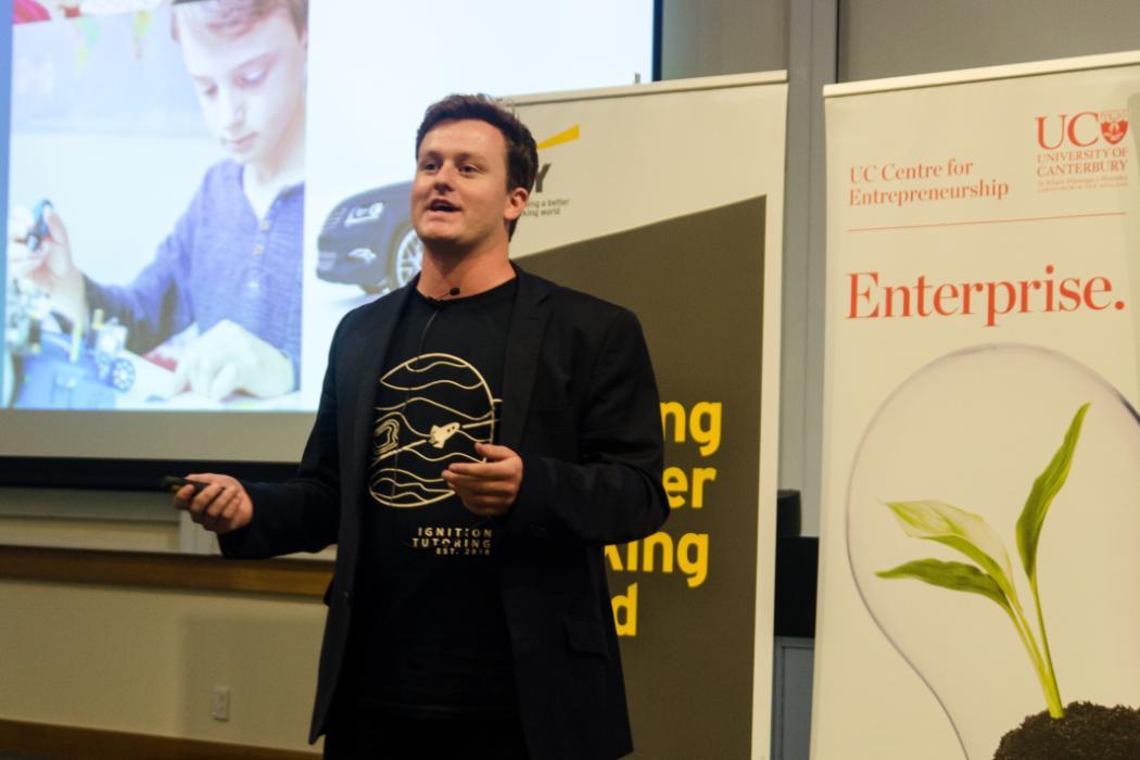 Tom Maslin UCE EY Summer Startup 2019 presentations