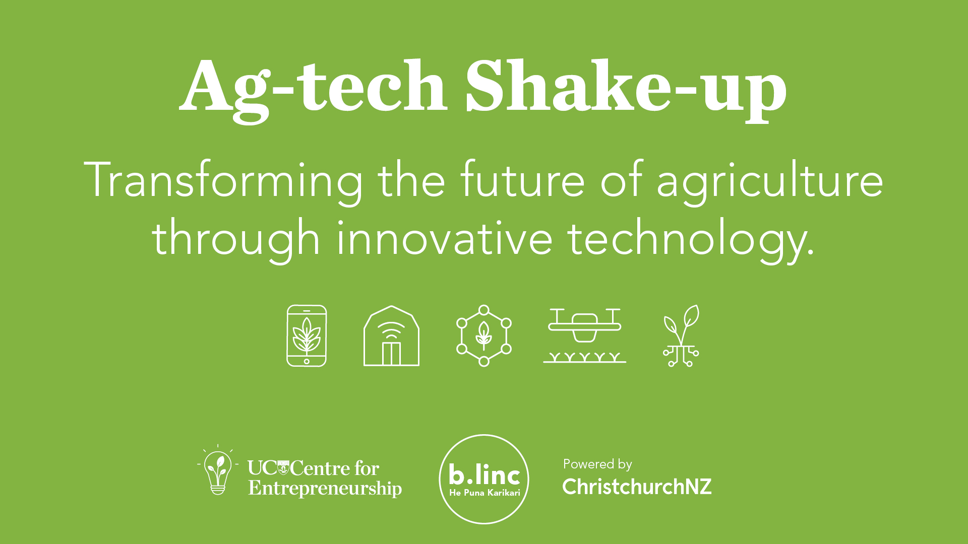 Ag-tech Shake-up