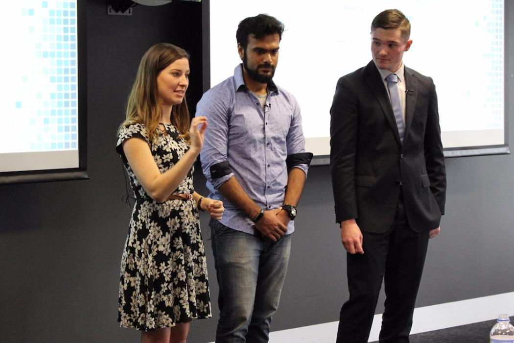team gyob presenting