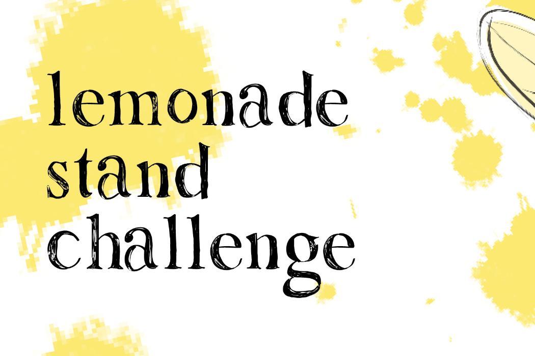 UCE Lemonade Stand Challenge Badge