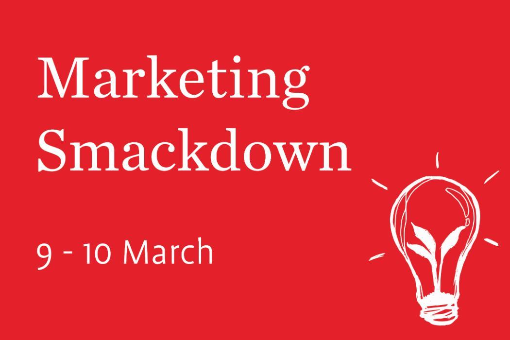 Marketing Smackdown Badge 2019 2