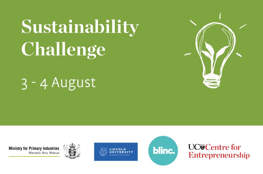 Sustainability challenge banner 2019