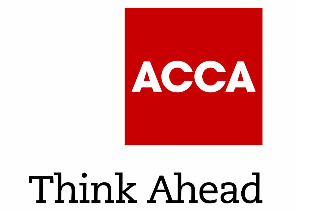 ACCA Think Ahead (title below) logo