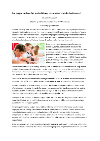 Literature resource produced by CEM to support our assessments and surveys.  By Boereboom, J. (2016)