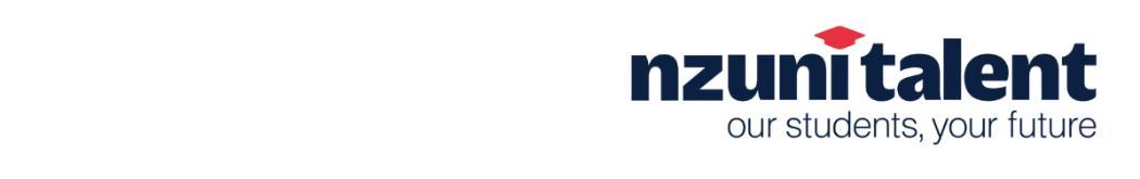 NZUni Talent banner just logo