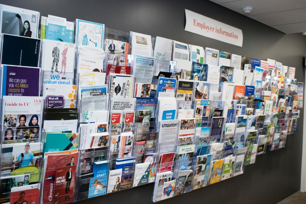 Employer information brochures