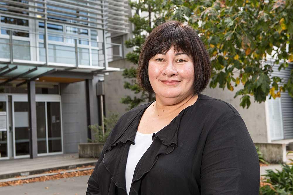 Senior lecturer Yvonne Crichton-Hill