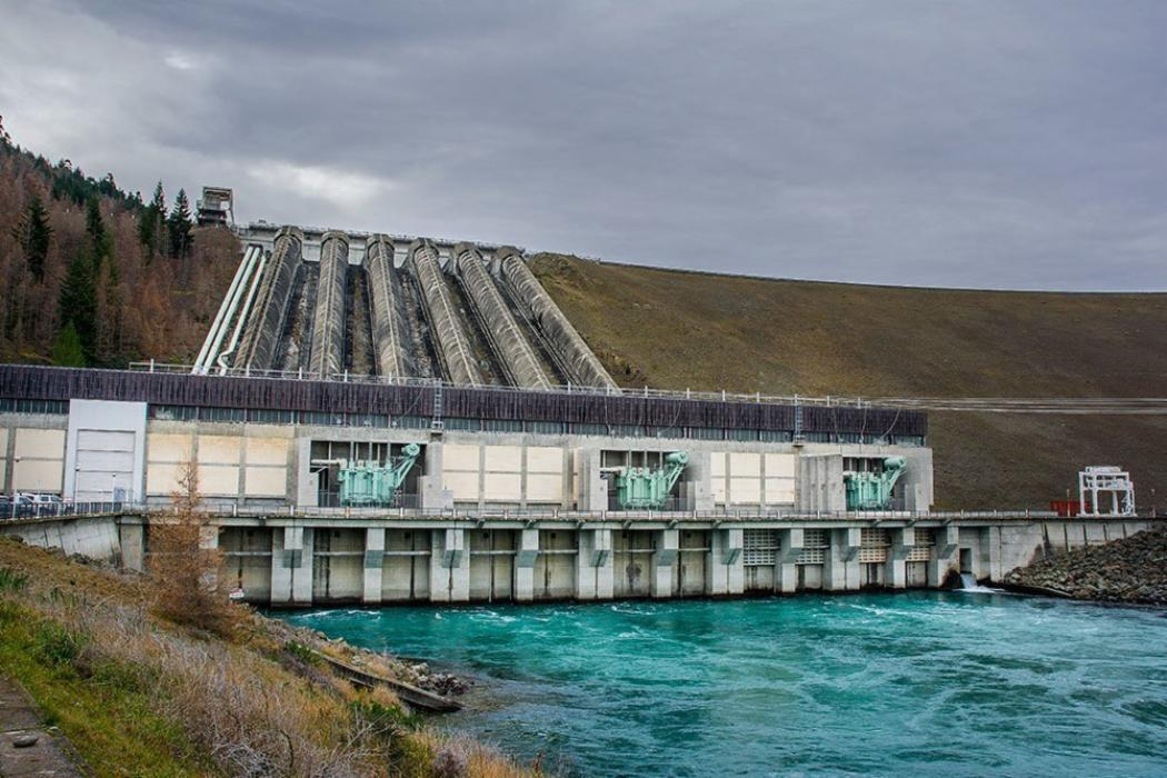 Hydro station on EPE field trip
