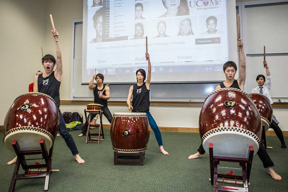 NCEA Japanese workshop at UC