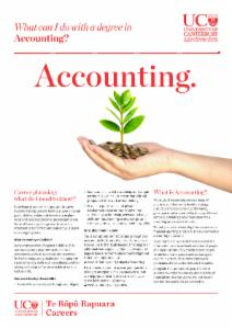 Careers Accounting