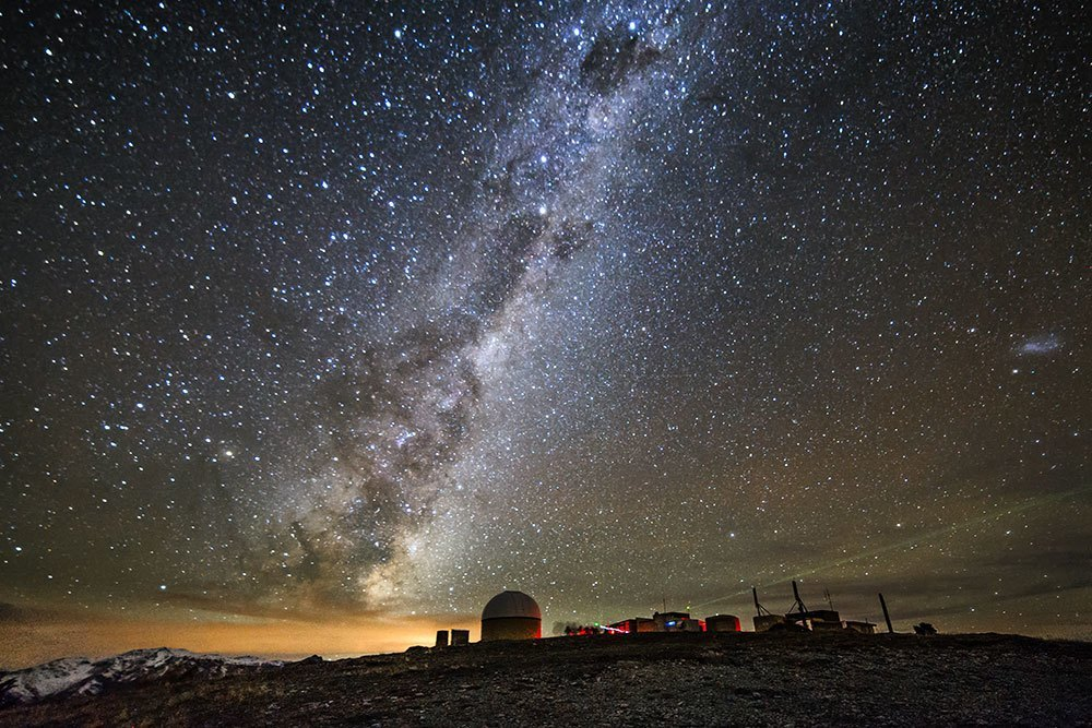 New Zealand's leading astronomical observatory at Mt John, Tekapo - one of UC's many field stations. © Restricted/Matt Searles/Green Man Creative
