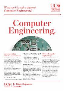 Careers Computer Engineering