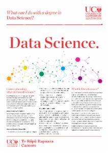 Careers Data Science