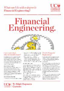 Careers Financial Engineering