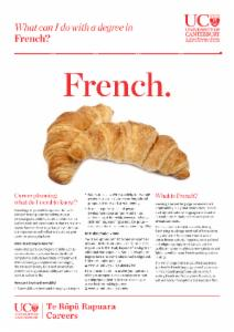 Careers French