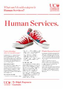 Careers Human Services