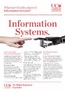 Careers Information Systems
