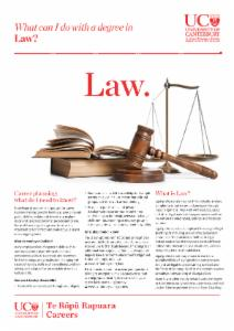 Careers Law