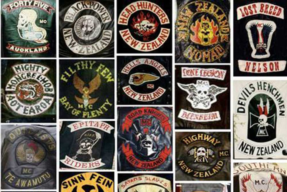 Gang and motorcycle club patches