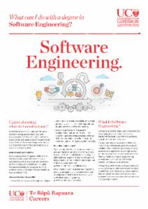 Careers Software Engineering