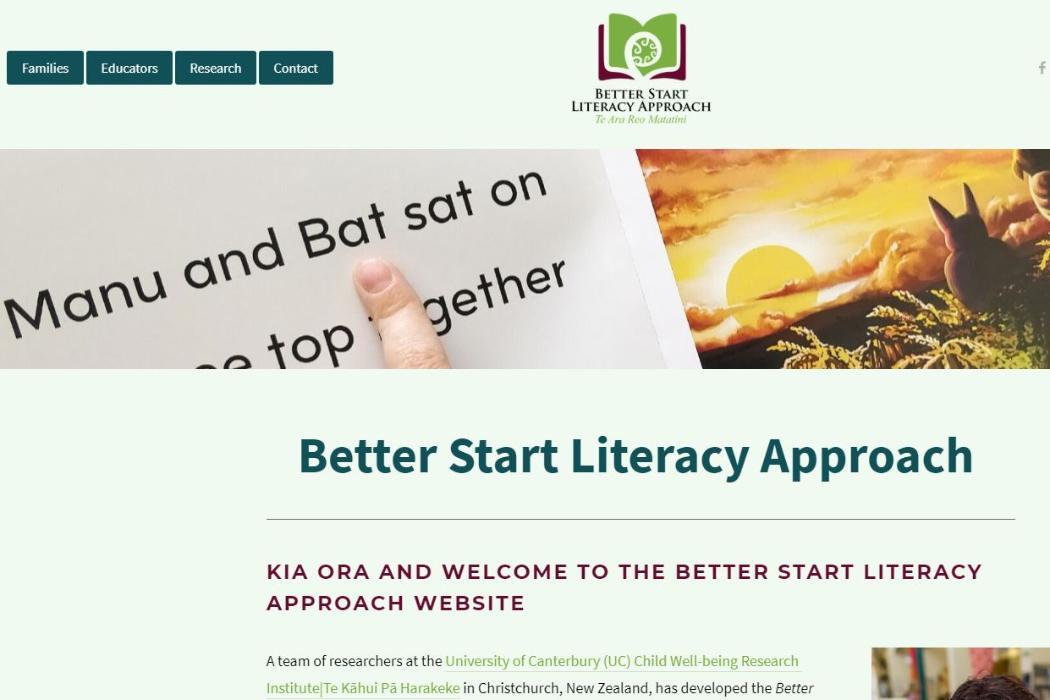 Better Start Litaracy Approach