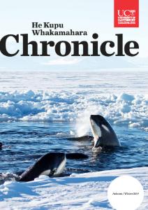 Chronicle no57 volumn 1 autumn/winter 2019