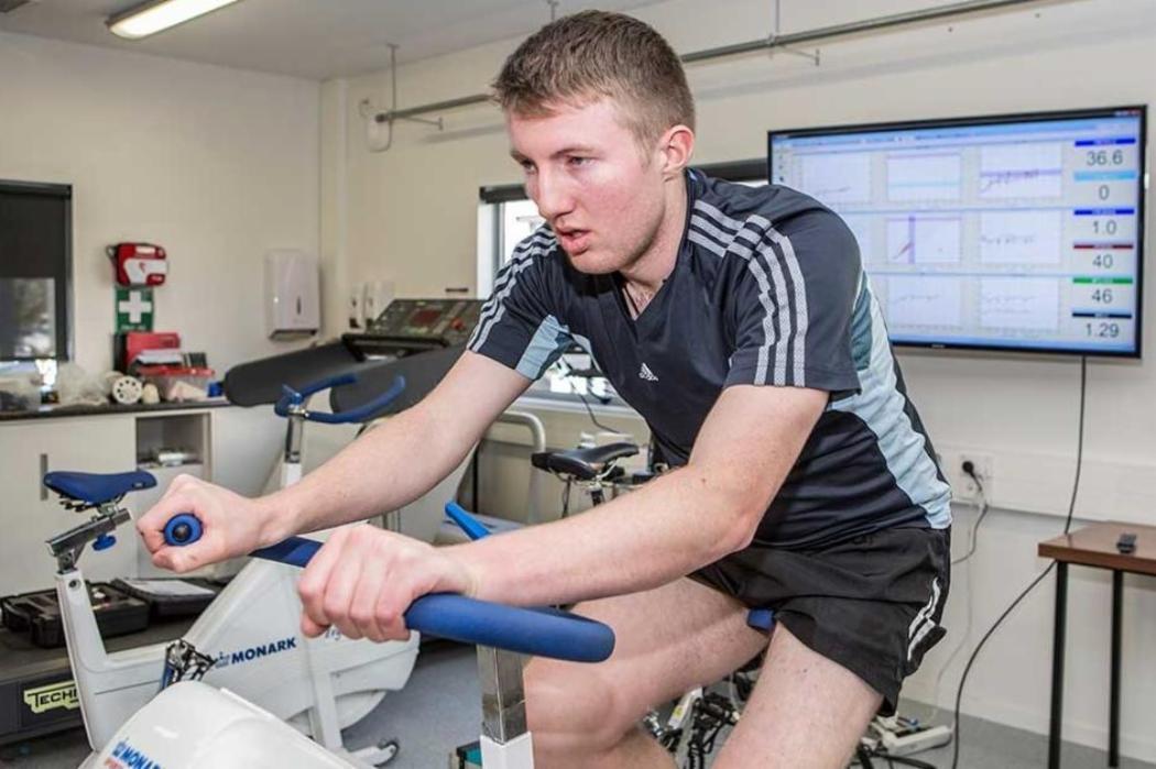 sport science on bike