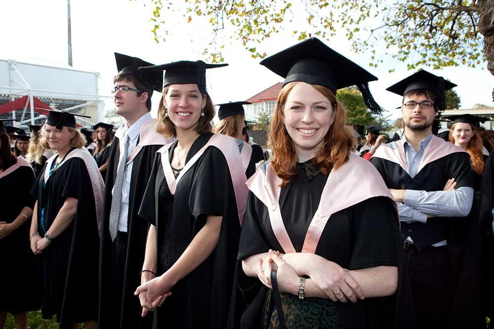 Bachelor of Arts graduation