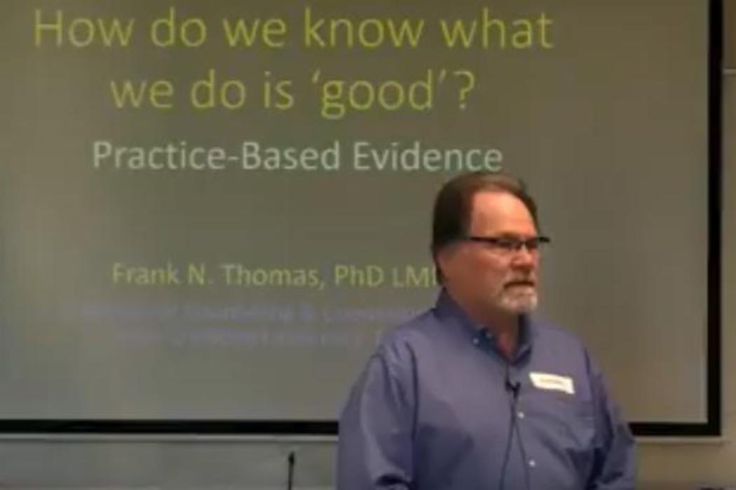Frank N Thomas - Practice-Based Evidence