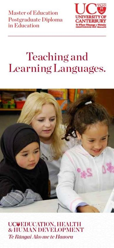 Teaching and learning langauages
