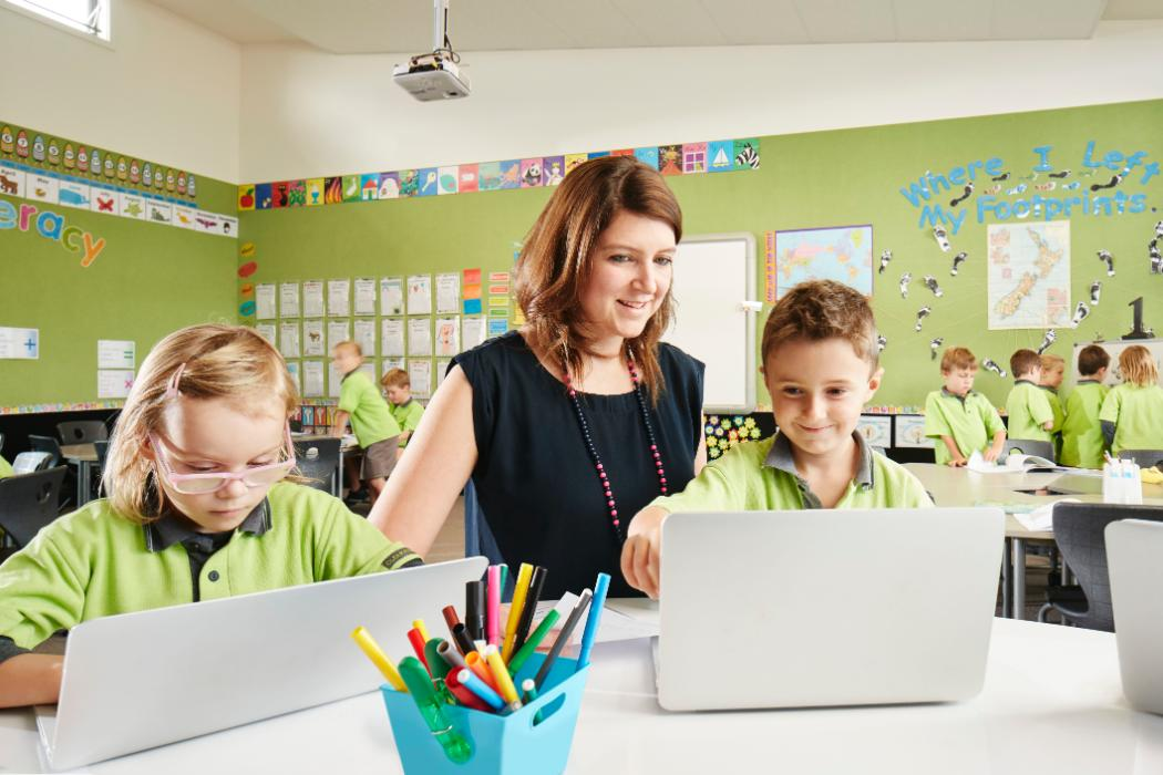 Primary Teaching - female teacher