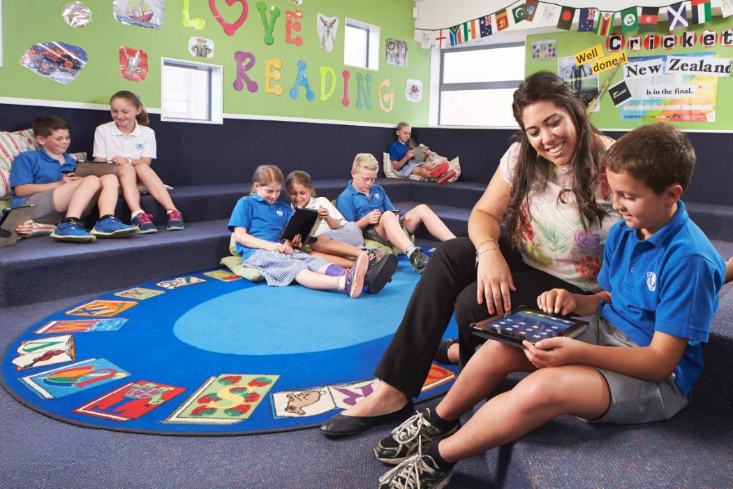 Primary Teaching - female teacher