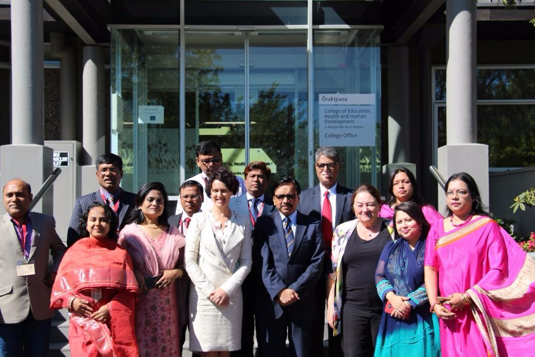 Visiting Teachers from Bangladesh