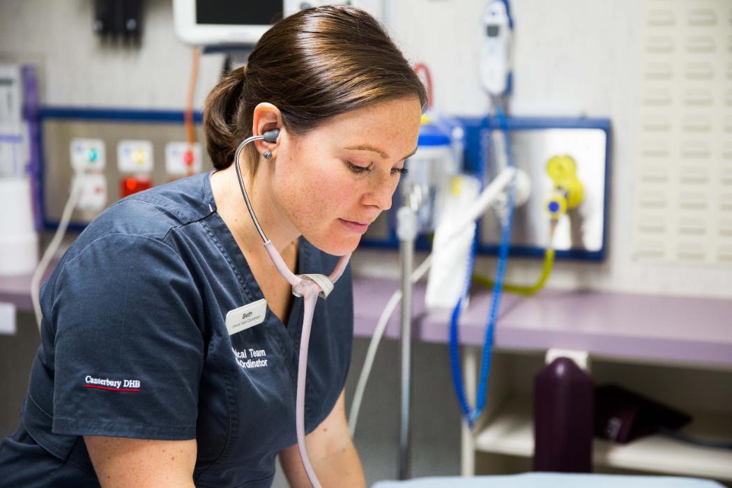 Beth nursing