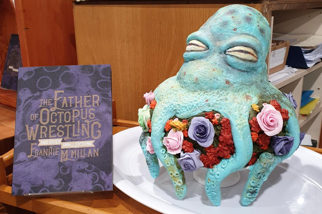The Father of Octopus Wrestling cake