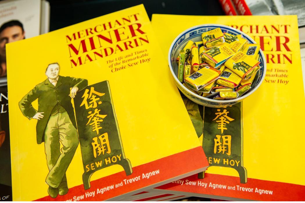 Merchant, Miner, Mandarin chocolates