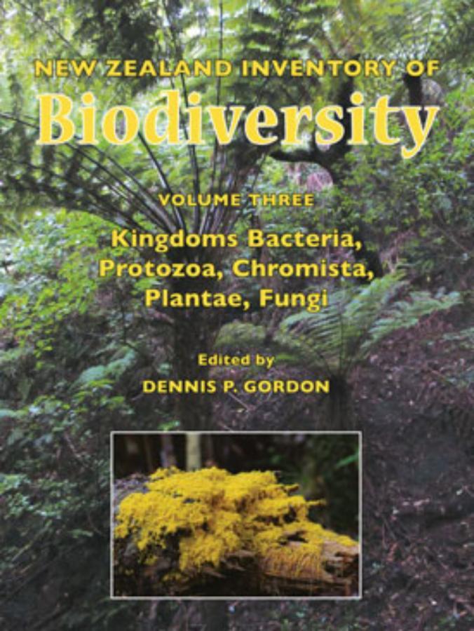 New Zealand Inventory of Biodiversity, Vol 3