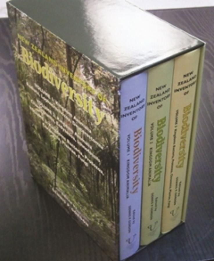 New Zealand Inventory of Biodiversity Boxed Set
