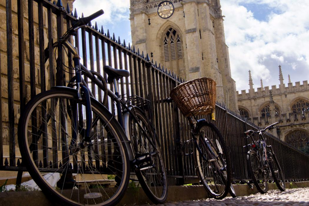 bicycles at Oxford university
