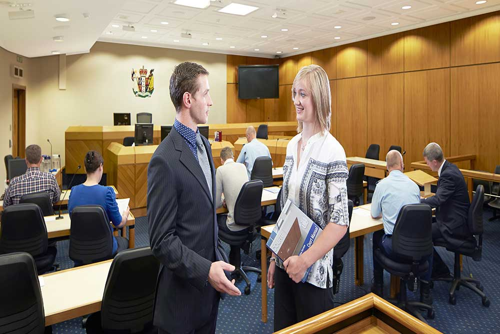 Bachelor of Criminal Justice_court room
