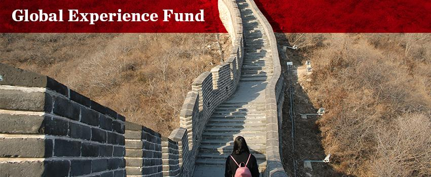 Global Experience Fund Banner