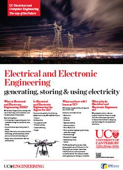 electrical and electronic engineering poster