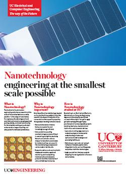 nanotechnology engineering poster